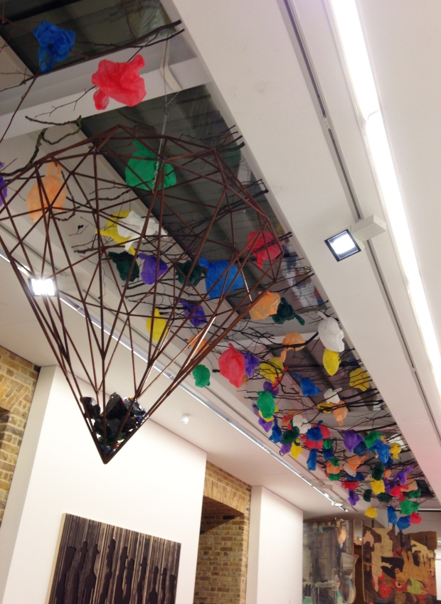 By Pascale Marthine Tayou at the Serpentine Gallery, March 2015